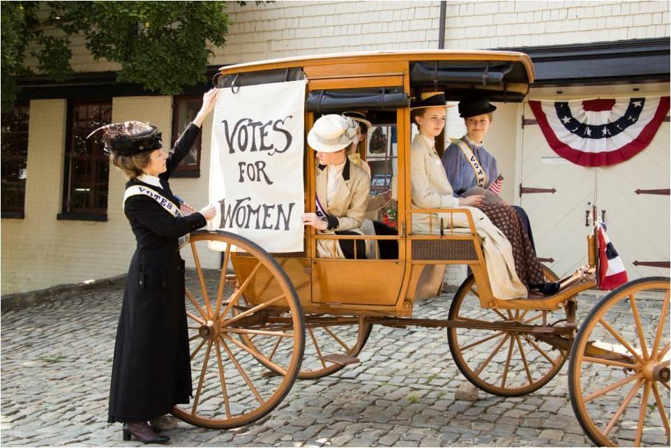 "Join Us for ""Persistence: The Story of Women's Suffrage"""