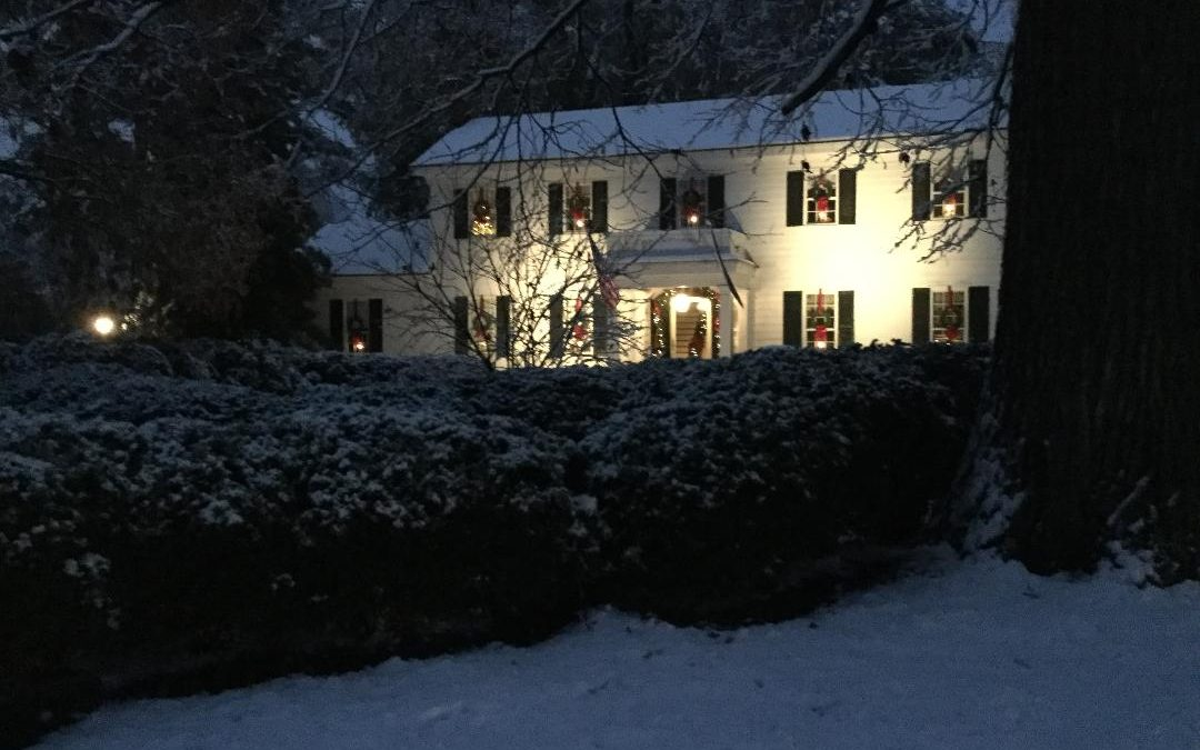 Historic Leafwood Christmas House Tour