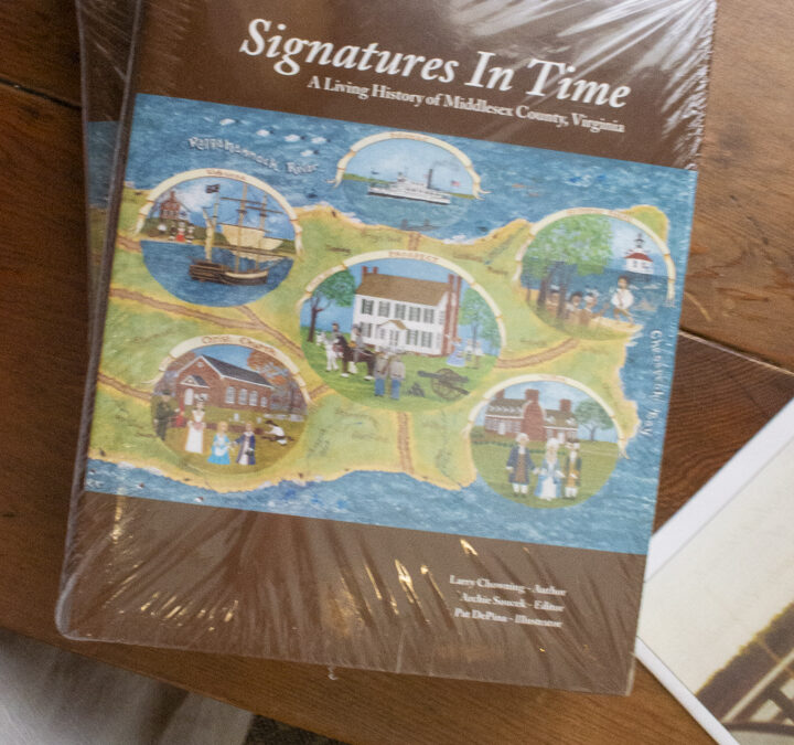 BOOK FOR SALE: Signatures in Time, A History of Middlesex County, Virginia