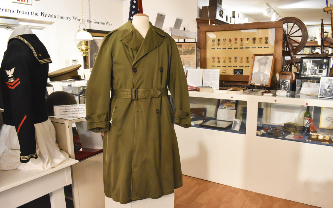 """General """"Chesty"""" Puller's Trench Coat On Display at Middlesex County Museum"""