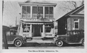 Marshall's Drug Store Urbanna, Virginia