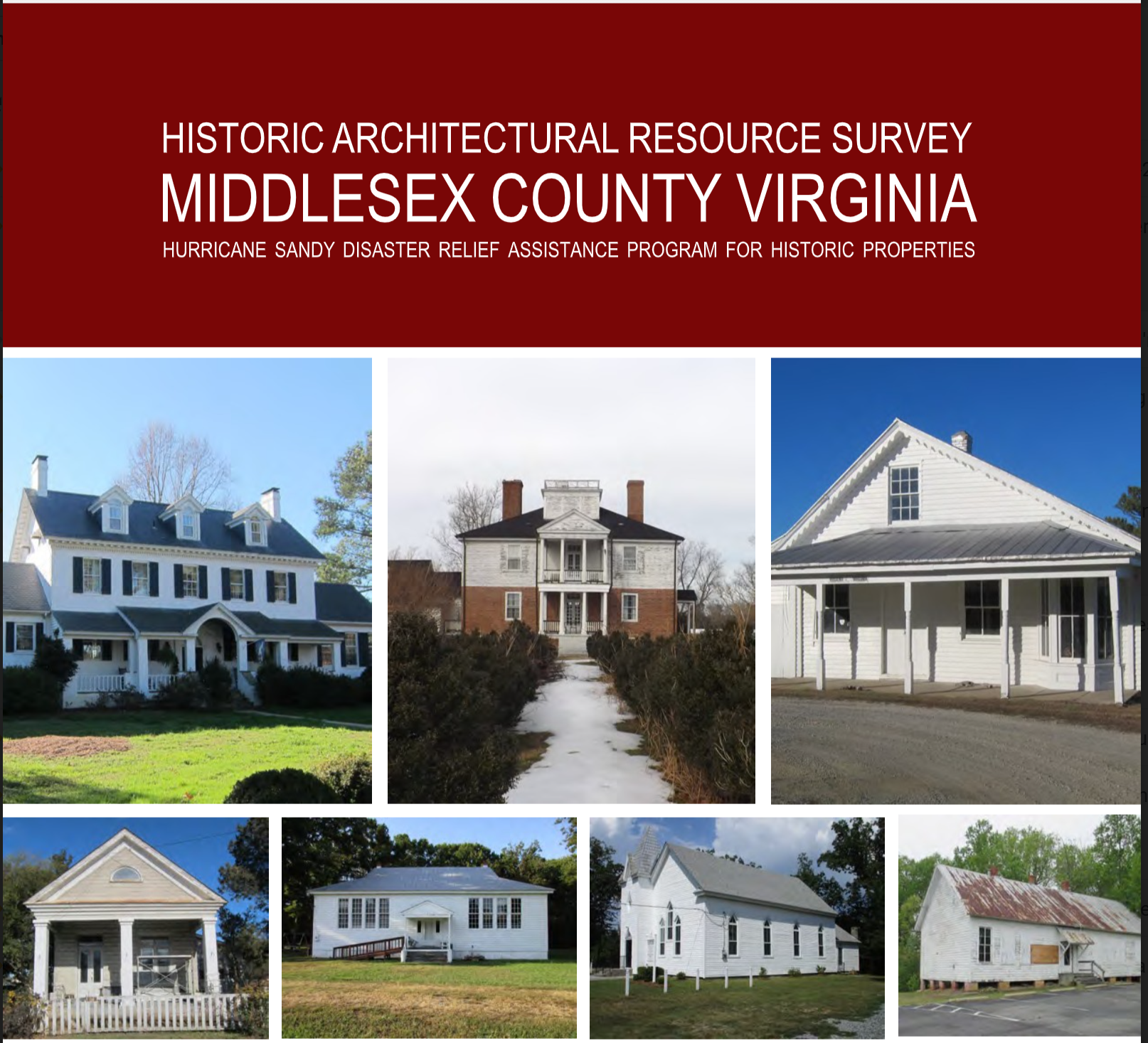Historic Architectural Survey of Middlesex County, Virginia